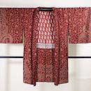 カシミール赤の羽織 正面
