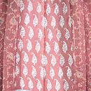 カシミール赤の羽織 羽裏