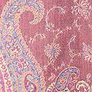 カシミール赤の羽織 質感・風合