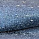 群青色サリー長羽織 質感・風合