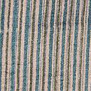 緑のサリーストライプ長羽織 質感・風合