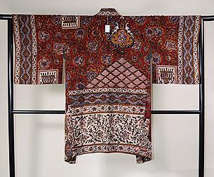 インド更紗羽織