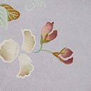 えんどうの花の単衣小紋 質感・風合
