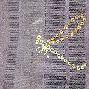 蜻蛉刺繍縦紗羽織 質感・風合