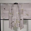 エンドウに蜻蛉単衣羽織 正面