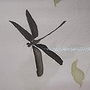 エンドウに蜻蛉単衣羽織 質感・風合