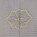 秋野に虫かごの絵羽織 背紋