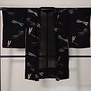 絽縮緬にトンボの長羽織 正面