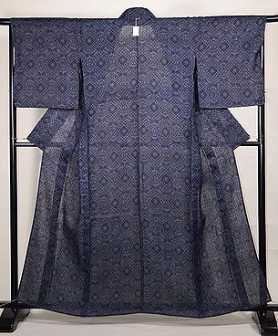 幾何学文様の宮古上布