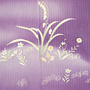 京紫地春の野の花色留袖 質感・風合