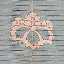 金魚とメダカの図絽訪問着 背紋