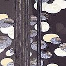 黒地蓮池の夏羽織 質感・風合