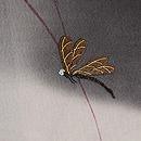 すすきに蜻蛉刺繍ぼかし単衣付下 質感・風合