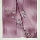 紫暈しナデシコの単衣小紋 上前