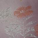 紫暈しナデシコの単衣小紋 質感・風合