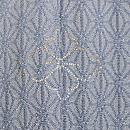 和歌に竹紋変わり織単衣付下 背紋