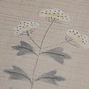 秋野の花々変わり織紗紬 質感・風合