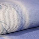 柳にコウモリ刺繍ぼかし絽着物 質感・風合