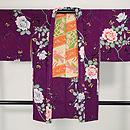 紫地バラの羽織 正面