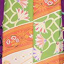 紫地バラの羽織 羽裏