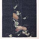 松に蔦の竹文様色留袖 上前