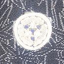 松に蔦の竹文様色留袖 背紋