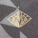 鱗紋に龍丸文様絵羽織 背紋