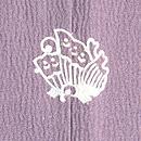 老い松にヤマドリの付下 背紋