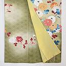 麻の葉紋に菊枝の訪問着 上前