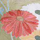 麻の葉紋に菊枝の訪問着 質感・風合
