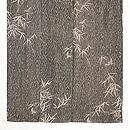 木目文様竹やぶに雀の小紋 上前