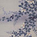 秋草の単衣羽織 質感・風合