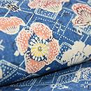 鎌倉芳太郎作 椿に蝶型絵染めの羽織 質感・風合