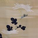 江戸菊に鶏頭の羽織 質感・風合