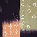 七宝に短冊文様羽織 質感・風合