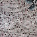 板締めに椿文様羽織 質感・風合
