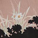 葡萄棚文様絵羽織 質感・風合