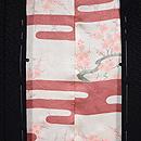 紗綾形地すずめの刺繍羽織 羽裏