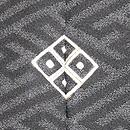 紗綾形地すずめの刺繍羽織 背紋