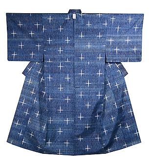 志村ふくみ作 十字絣単衣