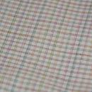 渡源織物製 白地小格子紬 質感・風合