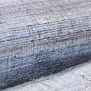藍多色横段絣袷紬 質感・風合