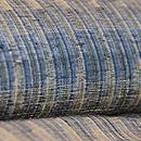 ベージュに藍絣文様紬 質感・風合