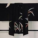 葦原に白鷺の黒羽織 正面