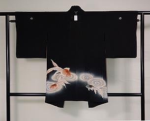 金魚の単衣羽織