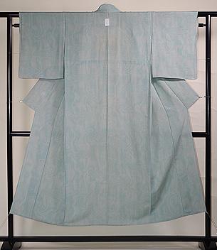 水紋に千筋の江戸小紋単衣
