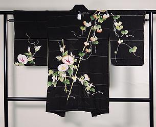 アサガオの単衣羽織