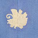 薄青錦紗地菖蒲に水玉の色留袖 背紋