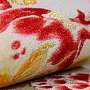 ザクロの織り半幅帯 前柄