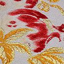 ザクロの織り半幅帯 質感・風合